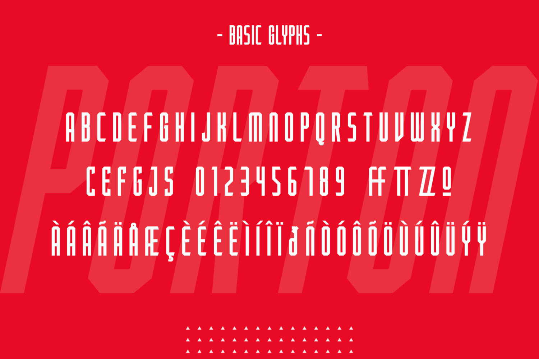 Porton Condensed Free Font