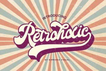 Retroholic Free Font