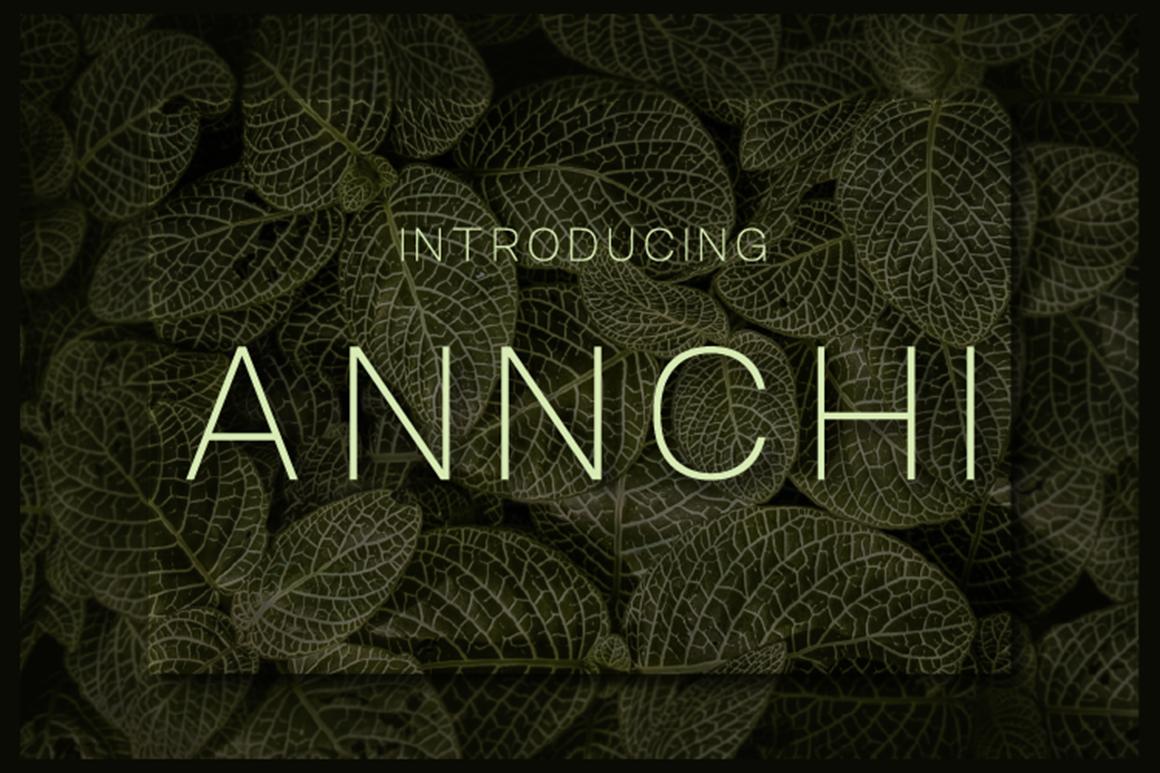 Annchi Free Font