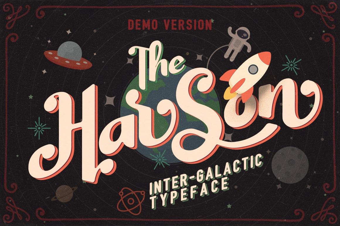 Harson Free Font