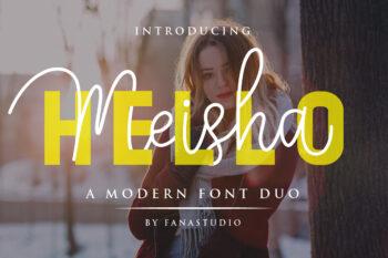Hello Meisha Free Font