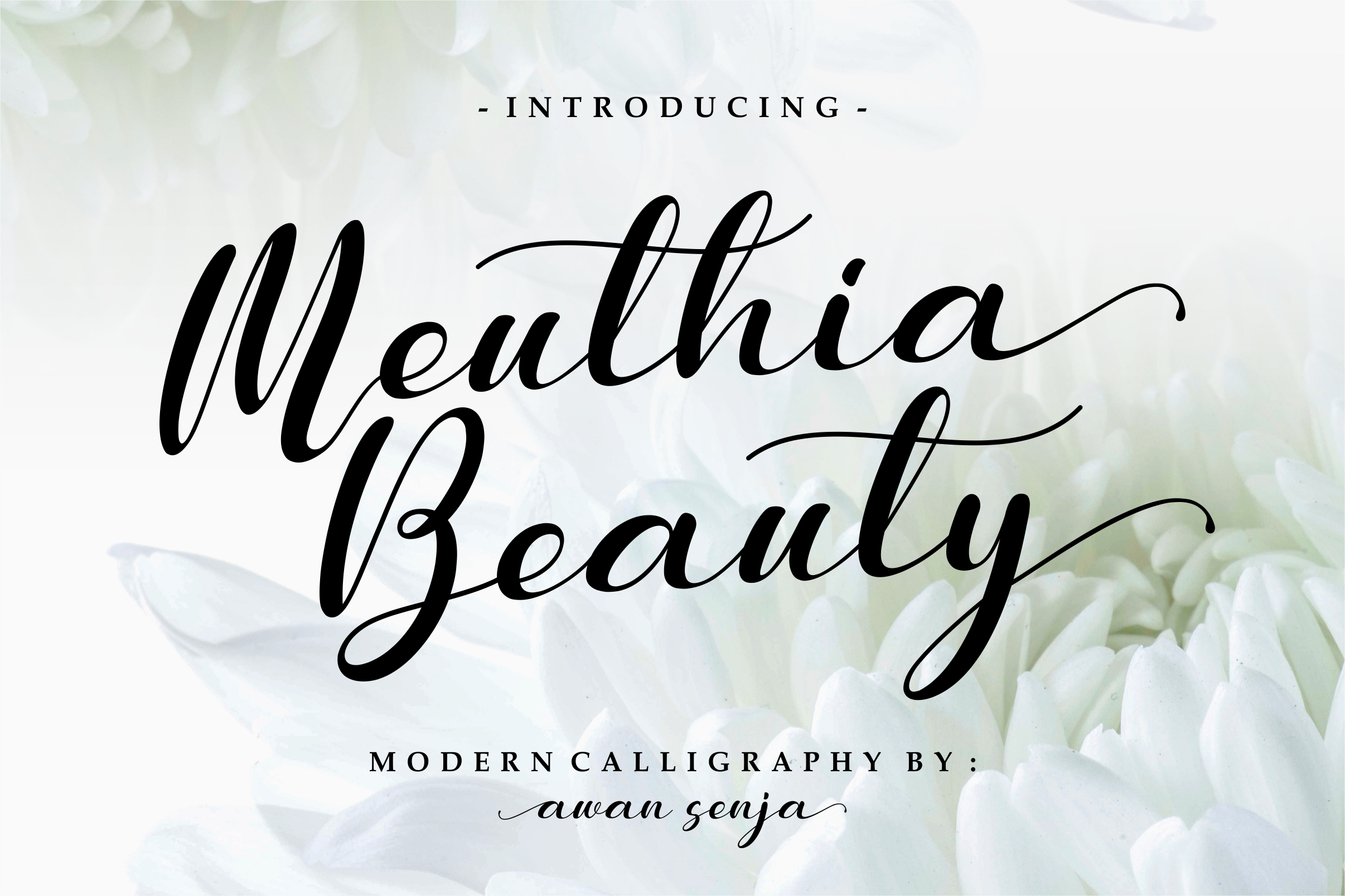 Meuthia Beauty Free Font