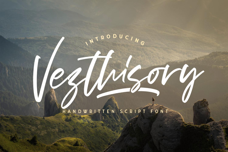 Vezthisory Free Font