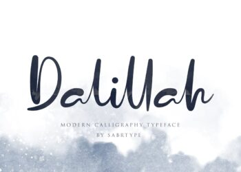 Dalillah Free Font