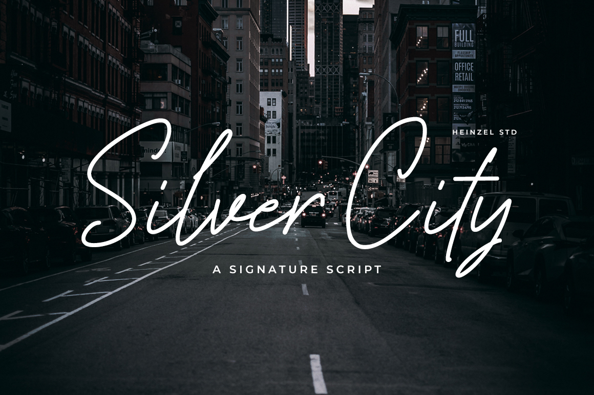 Free Font Silver City
