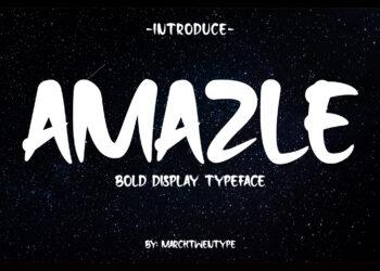 Amazle Typeface Free Font