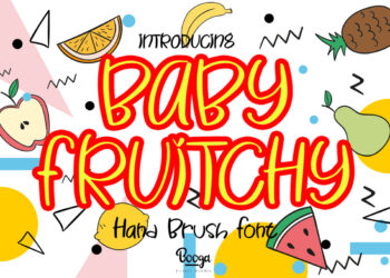 Baby Fruitchy Free Font