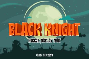 Black Knight Free Font