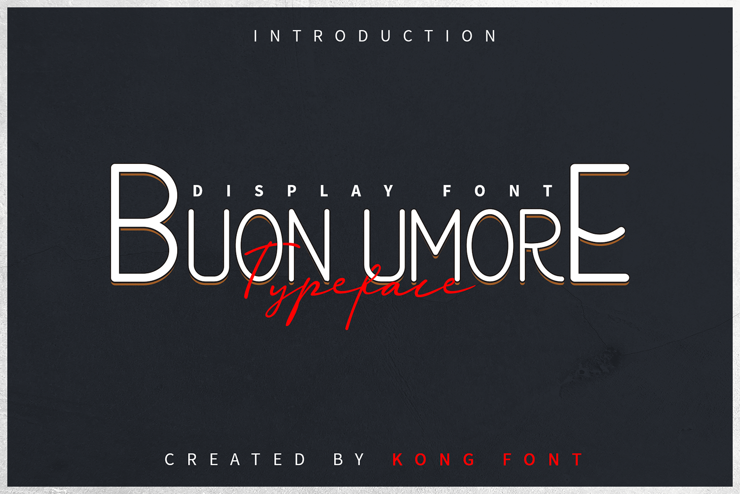 Buon Umore Free Font