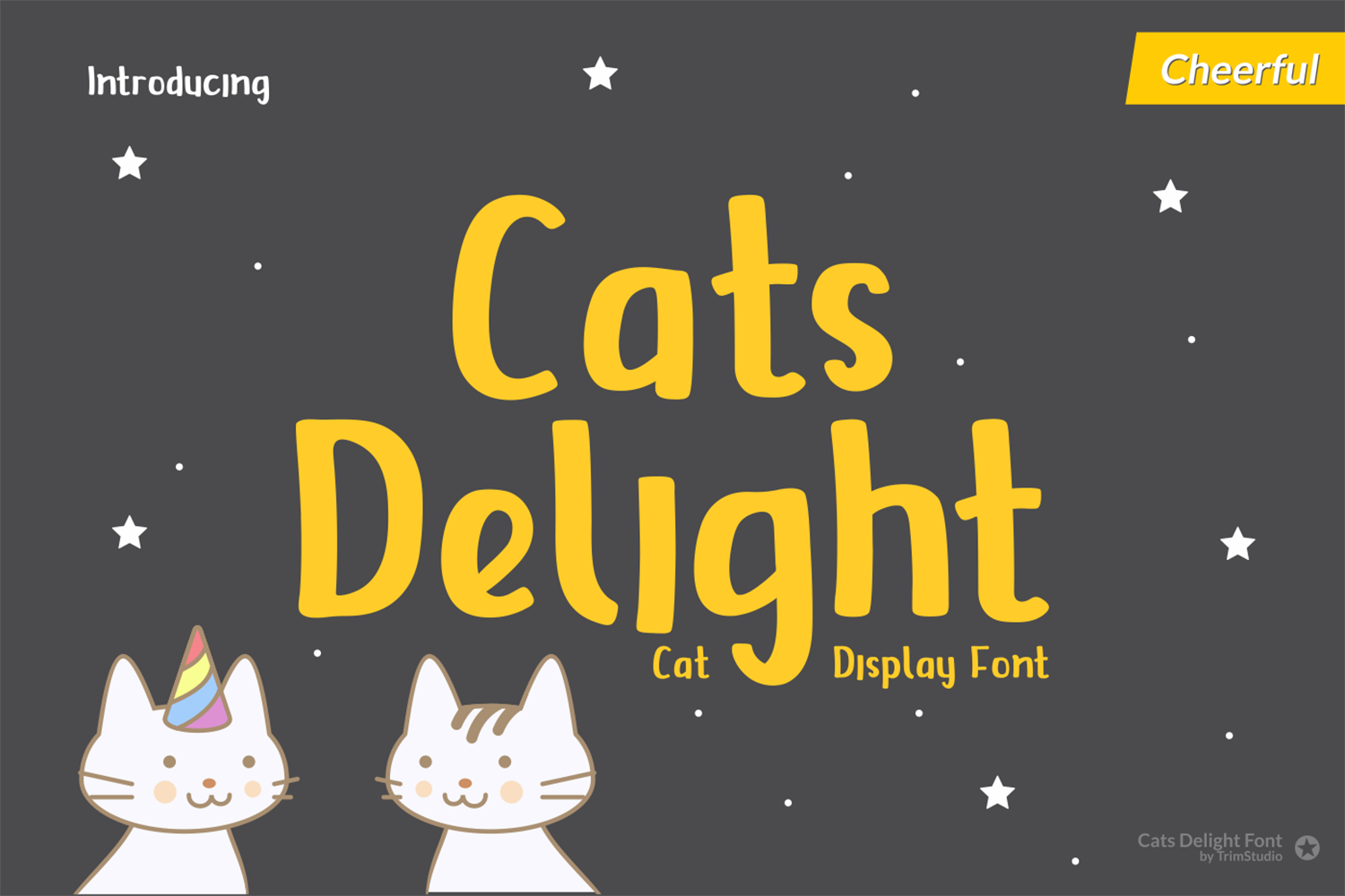 Cats Delight Free Font