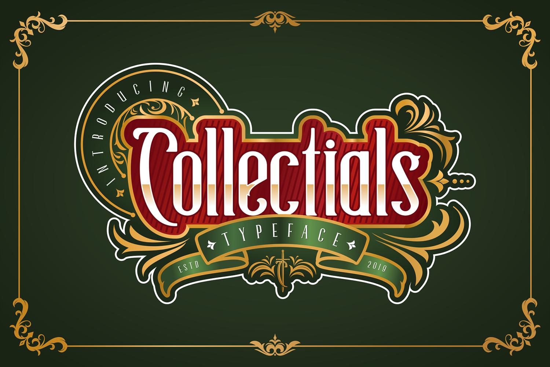 Collectials Classic Free Font
