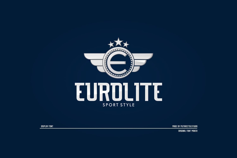 Eurolite Free Font