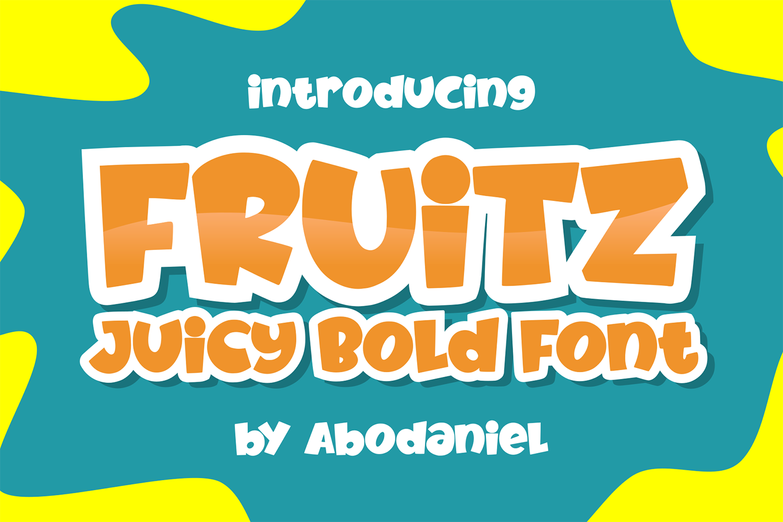 Fruitz Free Font
