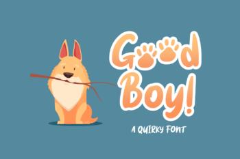 Good Boy Free Font