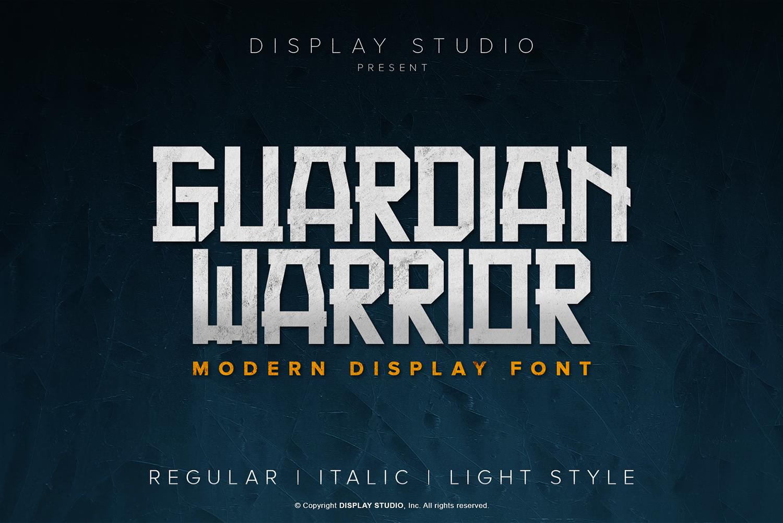 Guardian Warrior Free Font