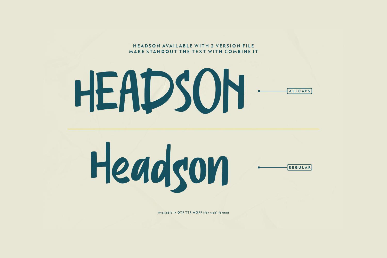 Headson Free Font