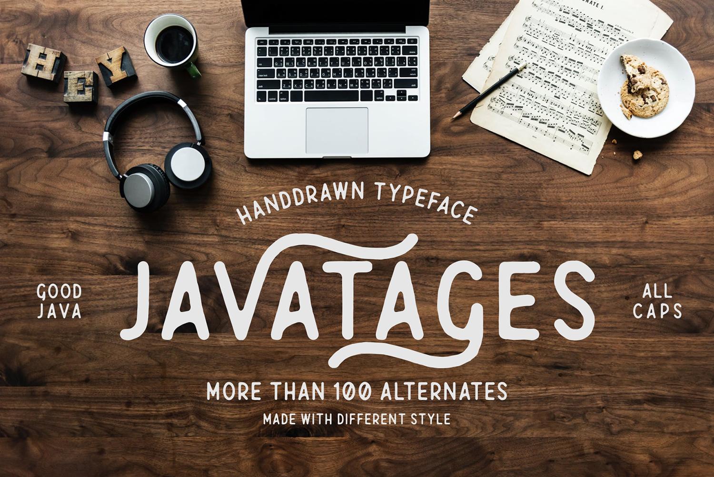 Javatages Free Font