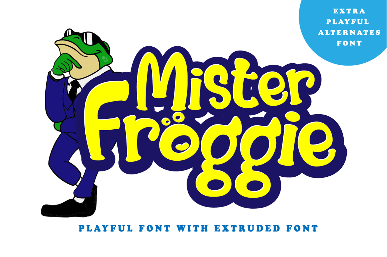Mister Froggie Free Font