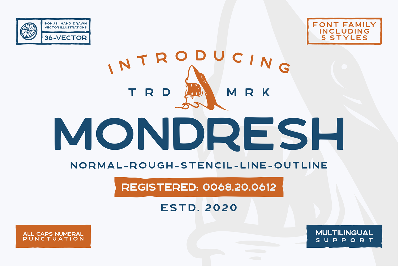 Mondresh Free Font