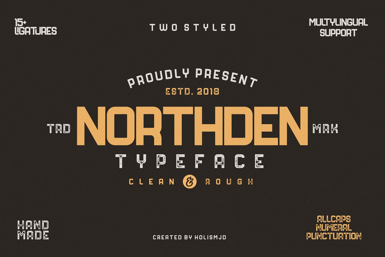 Northden Free Font
