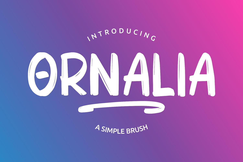 Ornalia Free Font