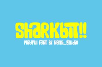Sharkbit Free Font