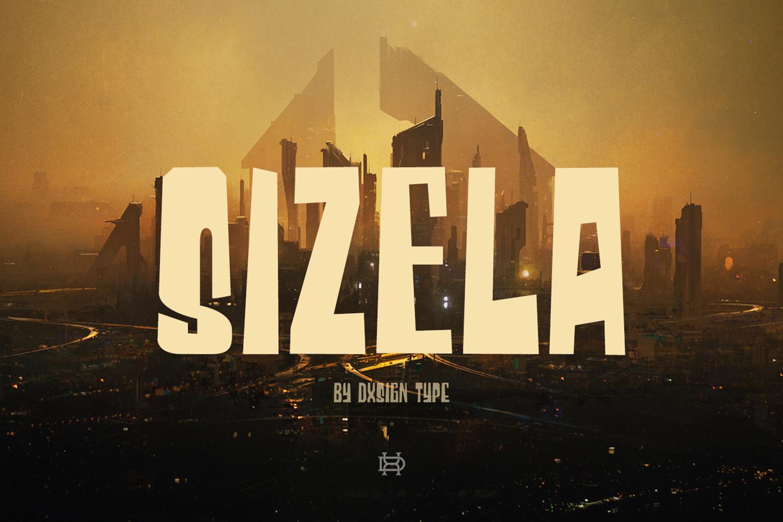 Sizela Typeface
