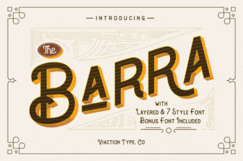 The Barra Free Font