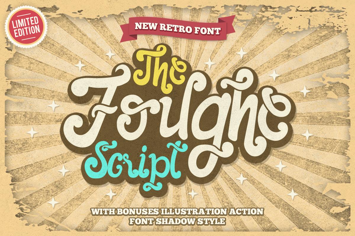 The Foughe Script Free Font