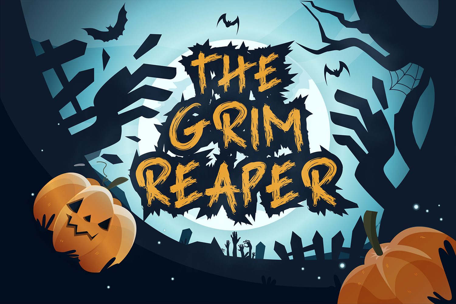 The Grim Reaper Free Font