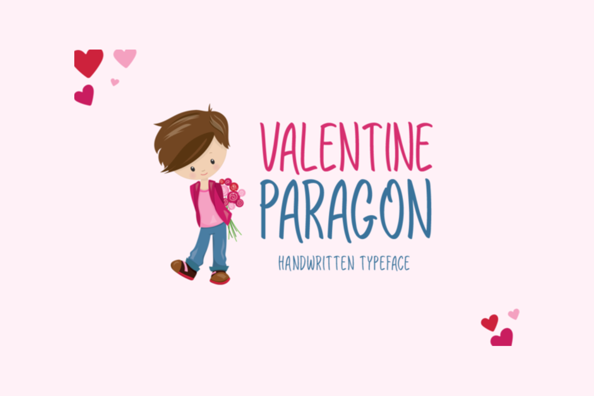 Valentine Paragon Free Font