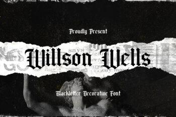 Wilson Wells Free Font