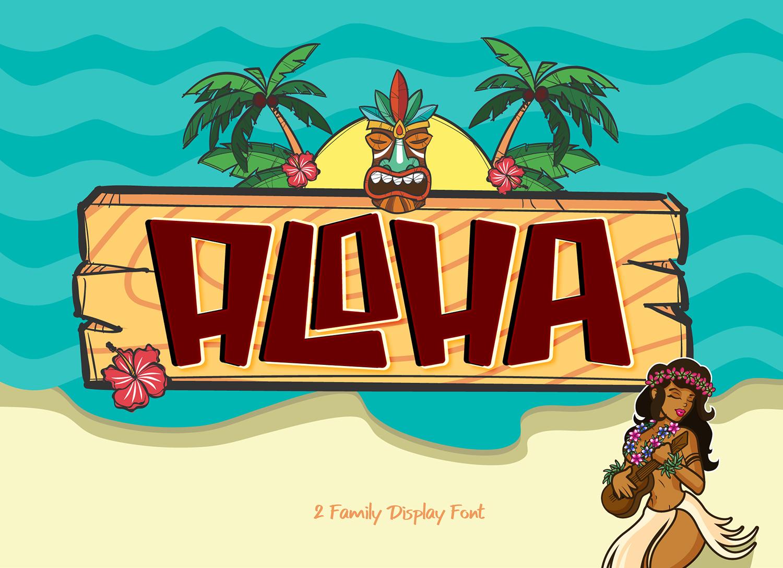 Aloha Free Font