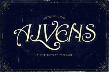 Alvens Free Font