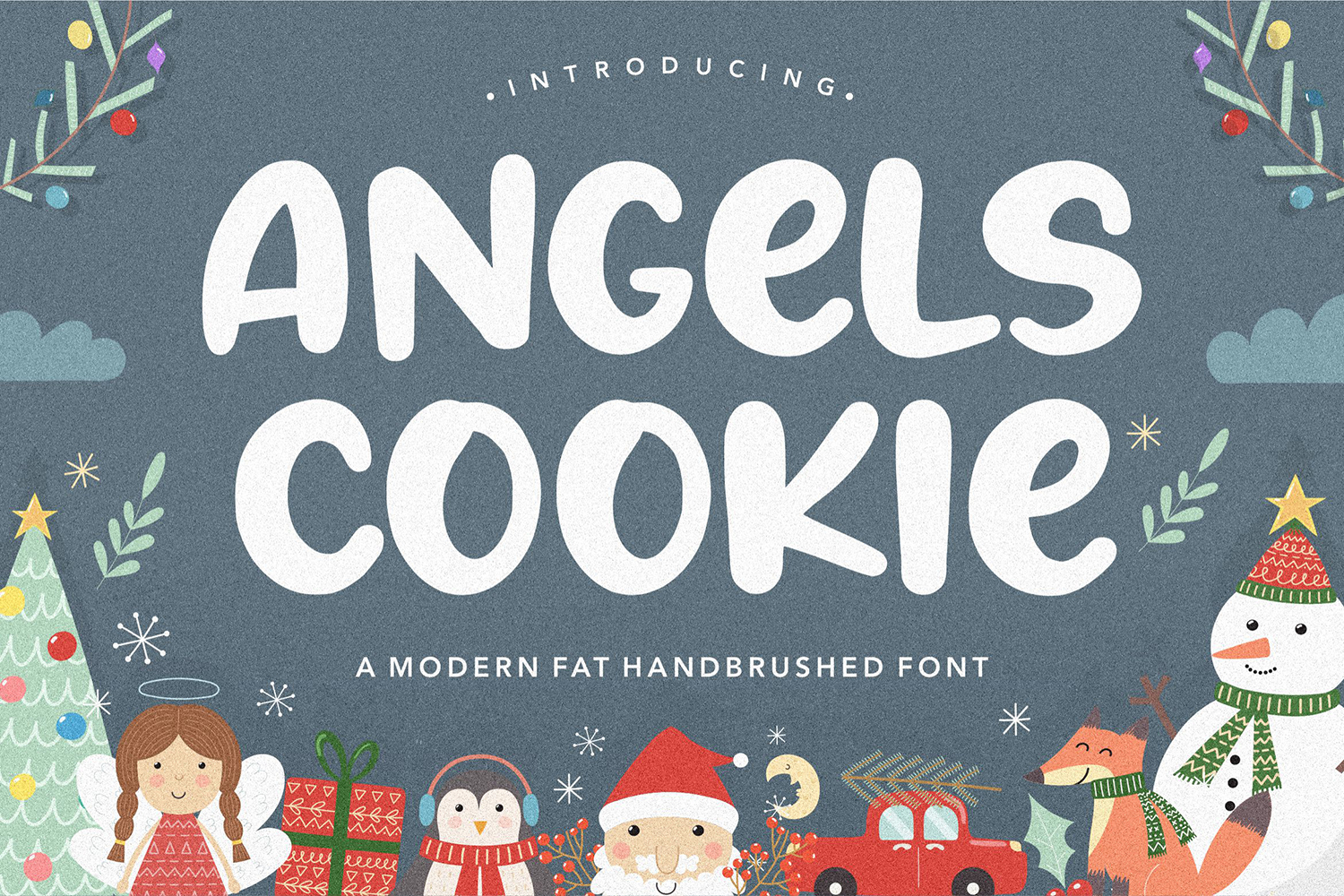 Angels Cookie Free Font