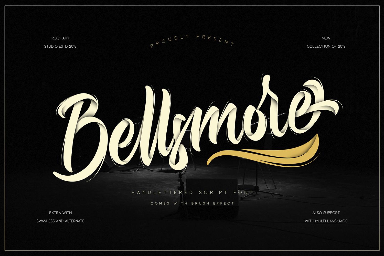 Bellsmore Free Font