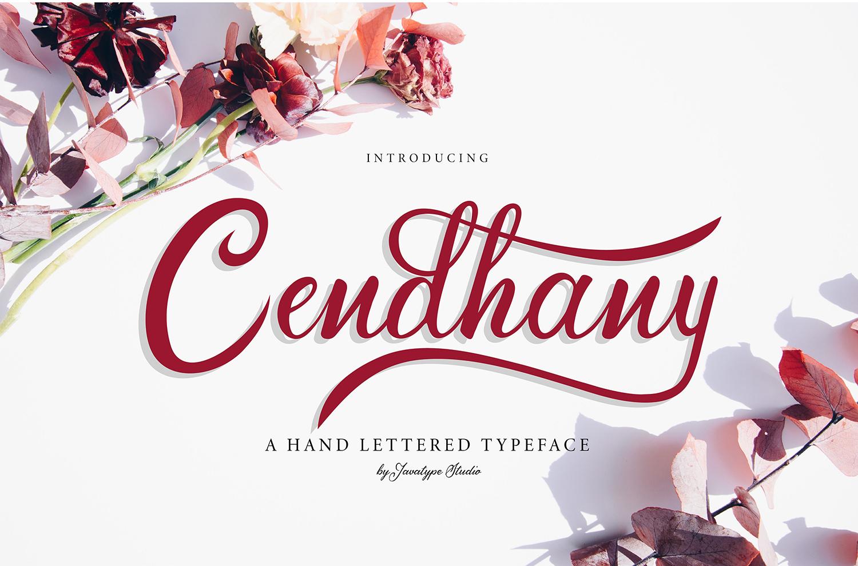 Cendhany Free Font