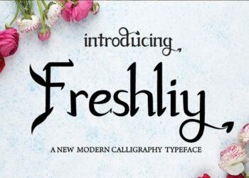 Freshliy Free Font