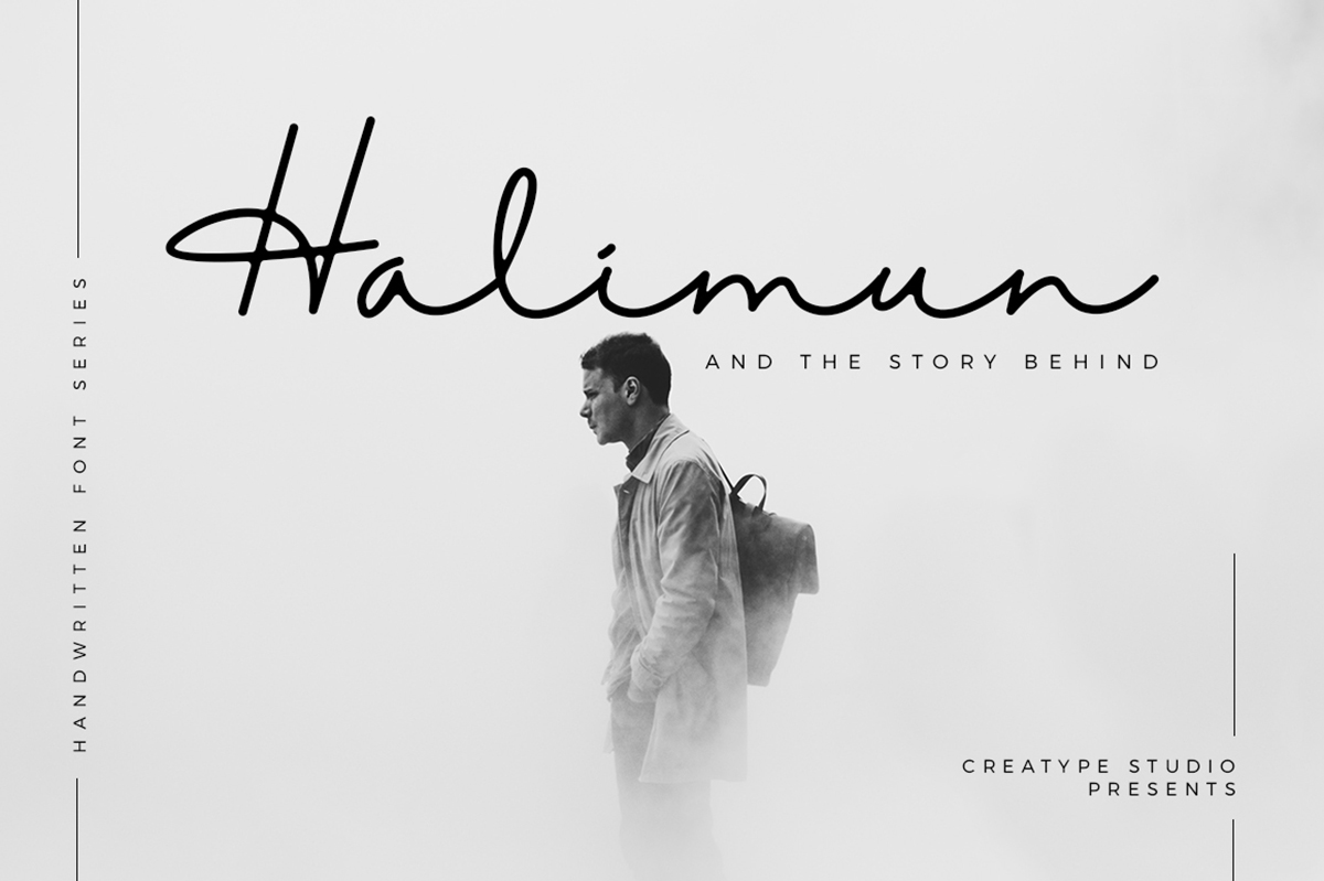 Halimun Free Font