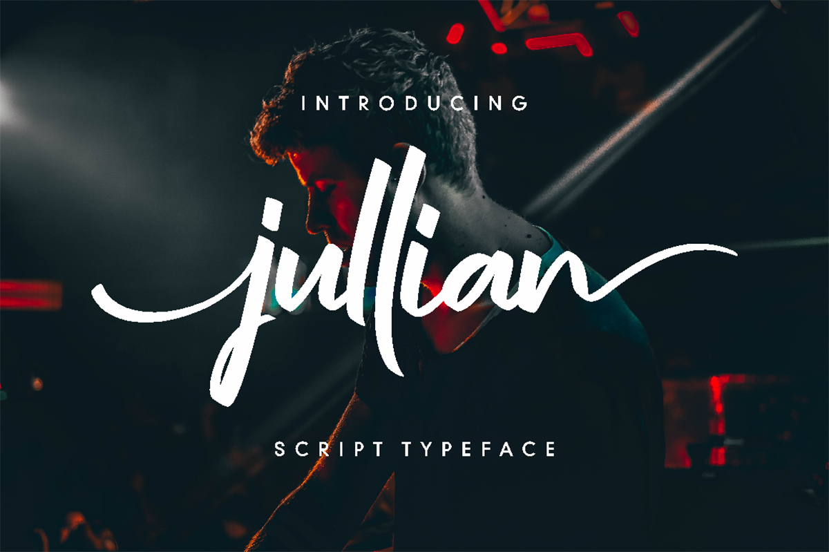 Jullian Script Free Font
