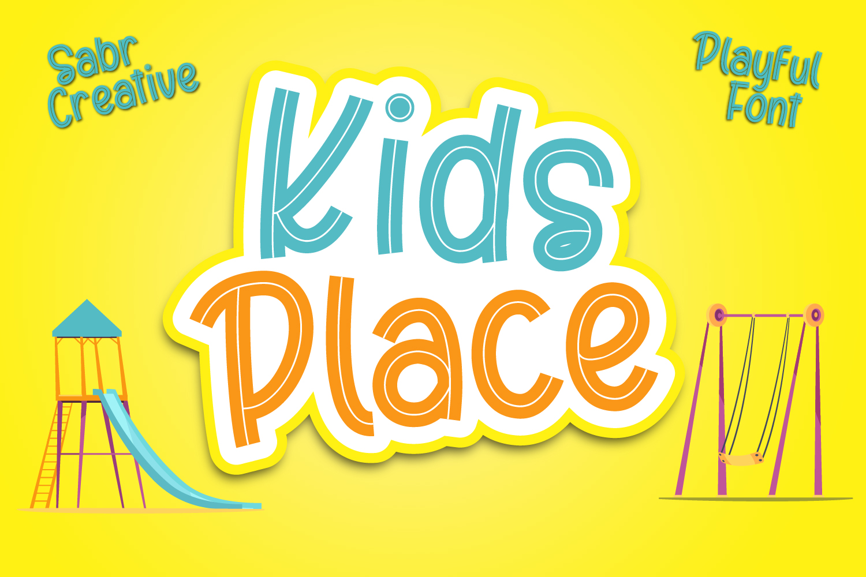 Kids Place Free Font