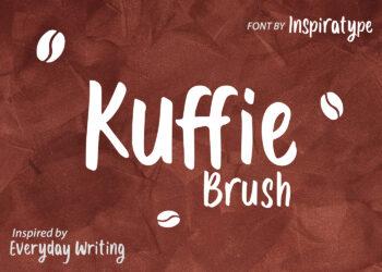 Kuffie Brush Free Font