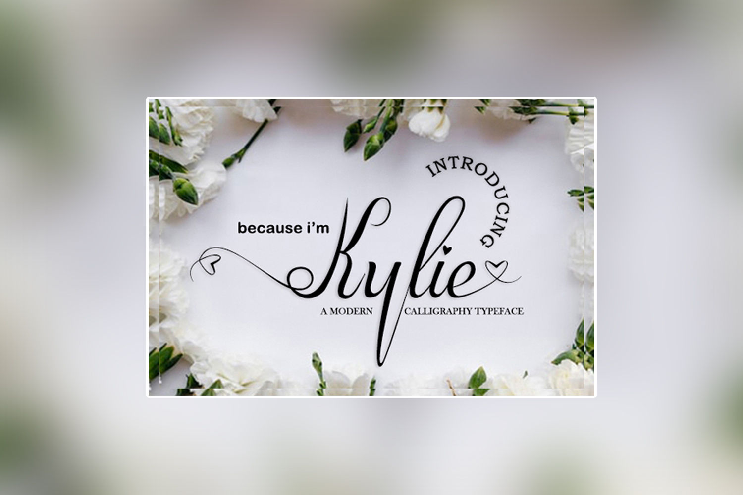 Kylie Free Font
