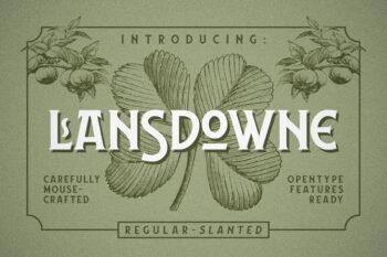 Lansdowne Free Font