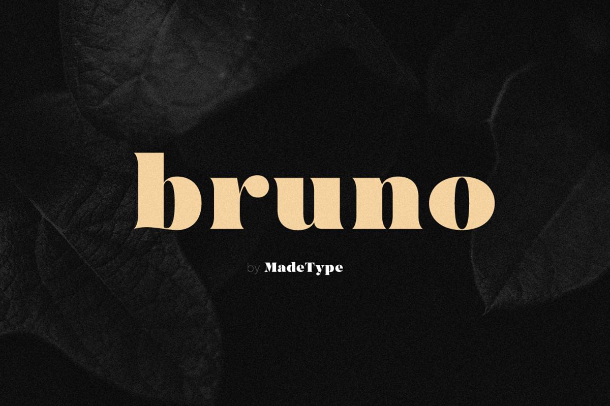 MADE Bruno Free Font