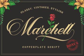 Marchell Script Free Font