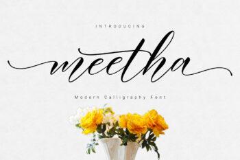 Meetha Script Free Font