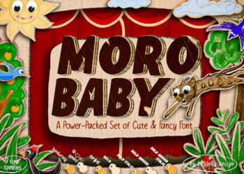 Moro Baby Free Font