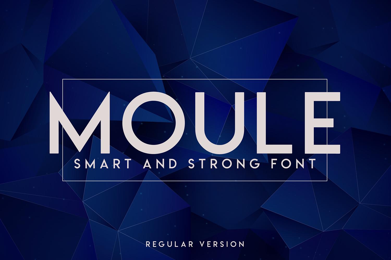 Moule Free Font