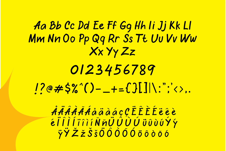 Oretans Free Font
